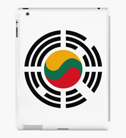 Korean Lithuanian Multinational Patriot Flag Series iPad Case/Skin