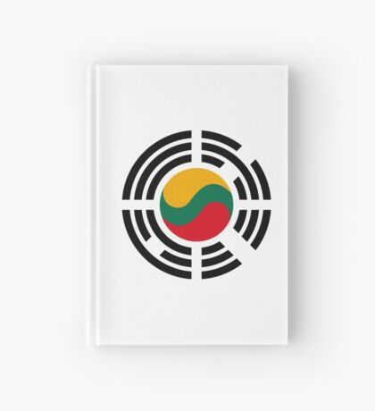 Korean Lithuanian Multinational Patriot Flag Series Hardcover Journal