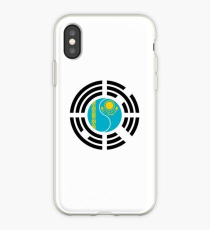 Korean Kazakhstan Multinational Patriot Flag Series iPhone Case