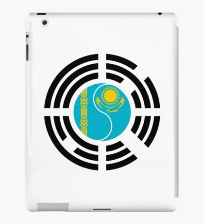 Korean Kazakhstan Multinational Patriot Flag Series iPad Case/Skin