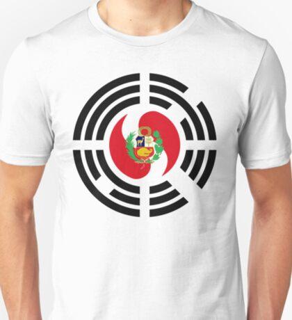 Korean Peruvian Multinational Patriot Flag Series T-Shirt