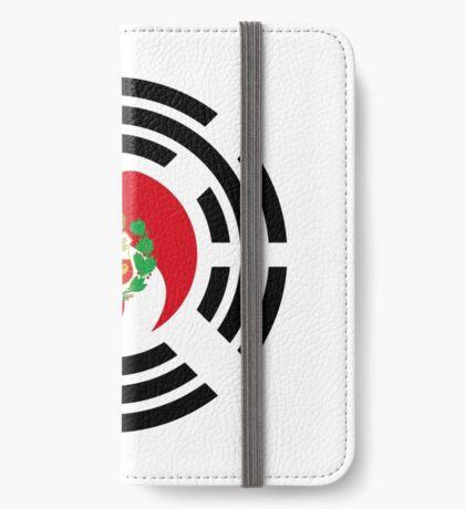 Korean Peruvian Multinational Patriot Flag Series iPhone Wallet