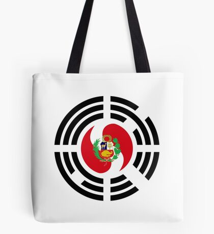 Korean Peruvian Multinational Patriot Flag Series Tote Bag