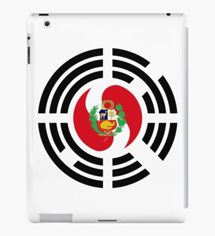 Korean Peruvian Multinational Patriot Flag Series iPad Case/Skin