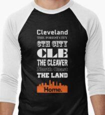 Cleveland Is My Home. Men's Baseball ¾ T-Shirt