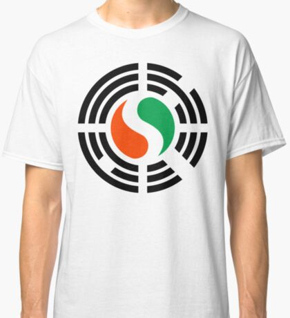 Korean Ivory Coast Multinational Patriot Flag Series Classic T-Shirt