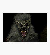 Be Afraid! Photographic Print