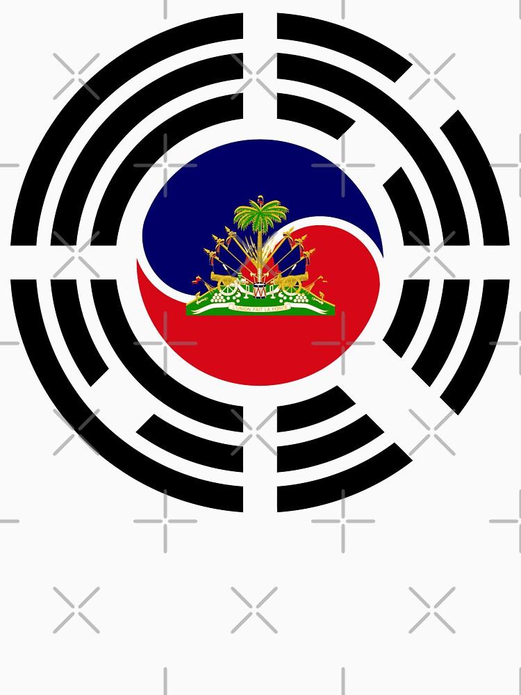Korean Haitian Multinational Patriot Flag Series by carbonfibreme