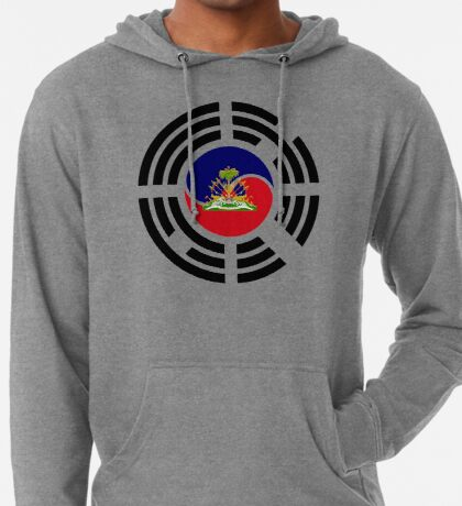 Korean Haitian Multinational Patriot Flag Series Lightweight Hoodie