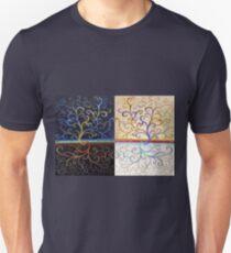 Yin Yang Tree of Life Unisex T-Shirt