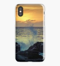 Dramatic sunset iPhone Case/Skin