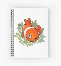 Lil' Clownfish Spiral Notebook