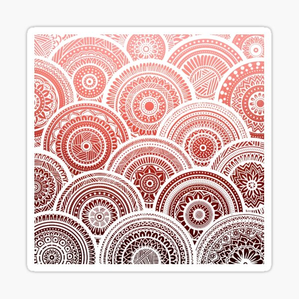Floral Mandalas Sticker
