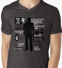 Dean Winchester Quotes Men's V-Neck T-Shirt