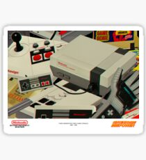 NINTENDO ENTERTAINMENT SYSTEM Sticker