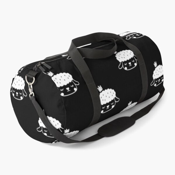 Cute Scandinavian Sheep #2 Duffle Bag