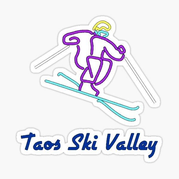 Taos Ski Valley Sticker Sticker