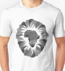 King of the Jungle (black and white) Unisex T-Shirt
