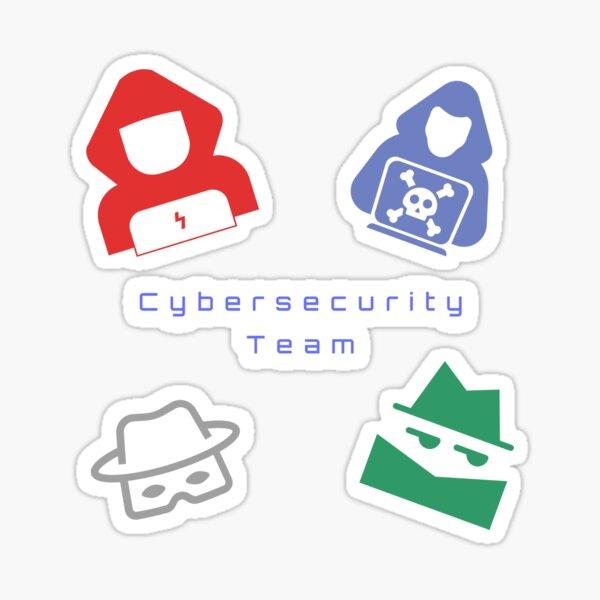 Cybersecurity Team Hacker Pack Sticker