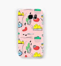 Cactus Mountain Samsung Galaxy Case/Skin