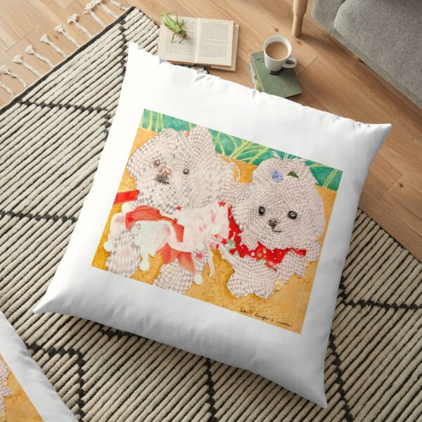 Buster and Buddy Floor Pillow