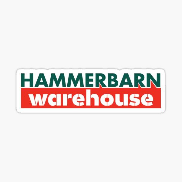 Hammerbarn Warehouse Sticker