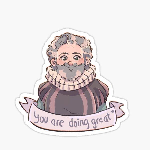 words of encouragement  Sticker