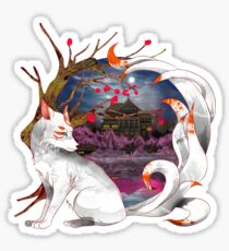 Into the Fox hole Sticker