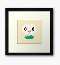 Grass Quill Monster Framed Print