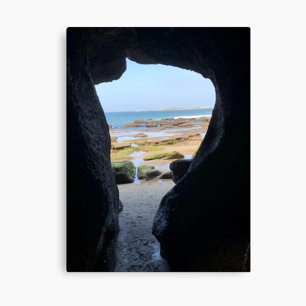 Looking Through the Caves Canvas Print
