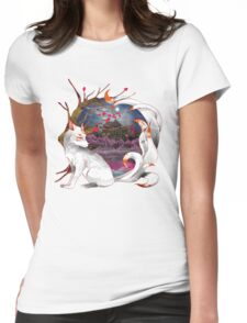 Into the Fox hole Womens Fitted T-Shirt