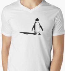 Penguin 2 (ladies T) Men's V-Neck T-Shirt