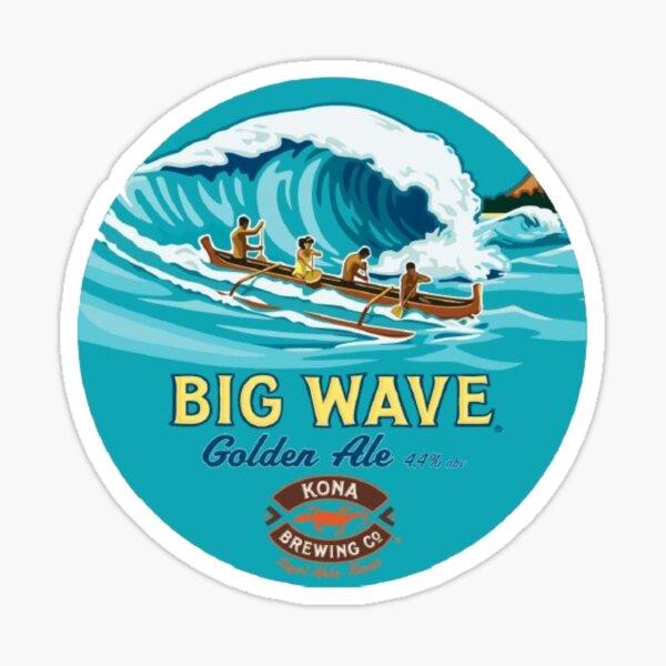 Kona Big Wave  Sticker
