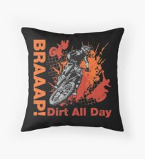 Braap T-shirts, Stickers, Mugs, Beddings, etc. Throw Pillow