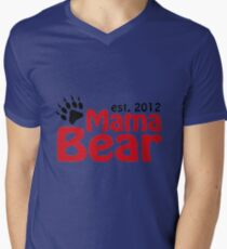 mama bear Men's V-Neck T-Shirt