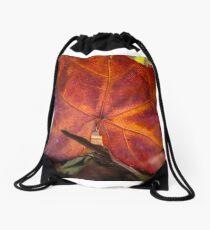 Autumn colour Drawstring Bag
