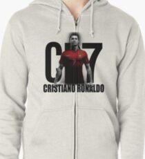 CRISTIANO RONALDO PORTUGAL CR7 Zipped Hoodie