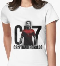 CRISTIANO RONALDO PORTUGAL CR7 Women's Fitted T-Shirt
