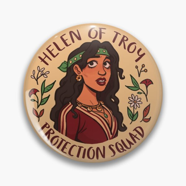 Helen of Troy Protection Squad Pin