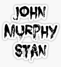 John Murphy Stan Sticker