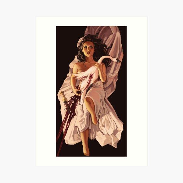Leda & the Swan Art Print