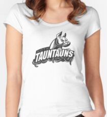 HOTH TAUNTAUNS FOOTBALL TEAM Women's Fitted Scoop T-Shirt