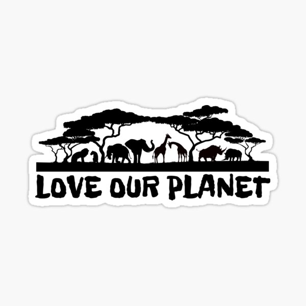 Love Our Planet Sticker