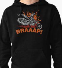 Sudadera con capucha Braaap, Dirt Bike, Motocross camisetas, tazas y ropa de cama