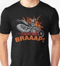 Braaap, Dirt Bike, Motocross T-shirts, Mugs and Beddings Unisex T-Shirt