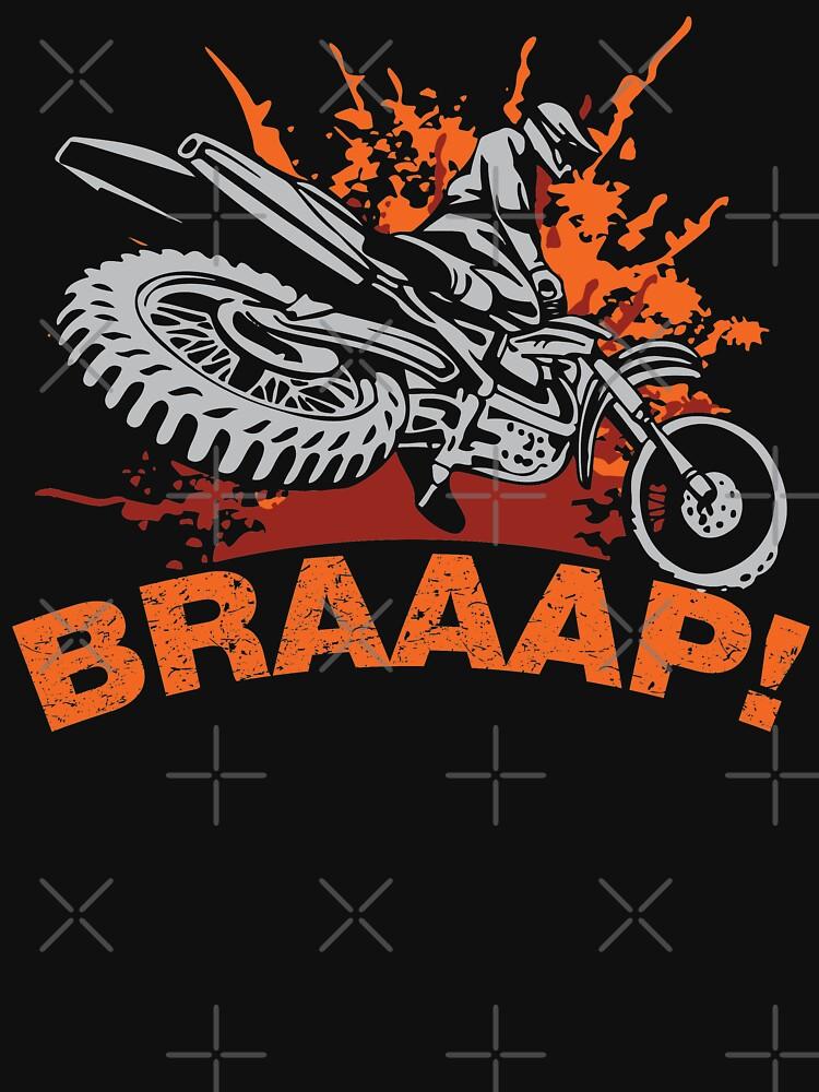 Sweat Leger Braaap Dirt Bike T Shirts De Motocross Tasses Et