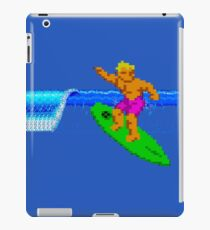 CALIFORNIA GAMES - SURFING - MASTER SYSTEM iPad Case/Skin