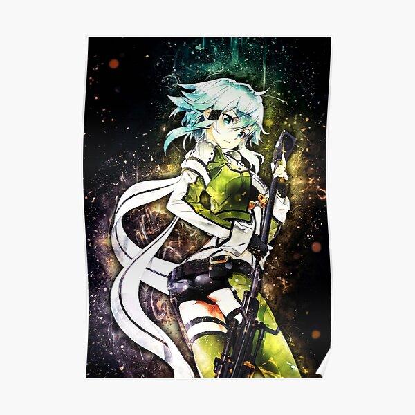 Sword Art Online Sinon Poster