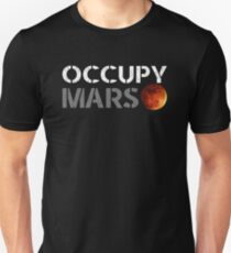 elon musk occupy mars T-Shirt