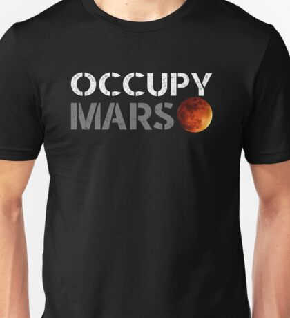elon musk occupy mars Unisex T-Shirt